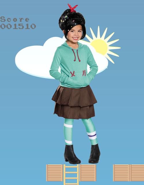 Girls Vanellope Von Schweetz Costume