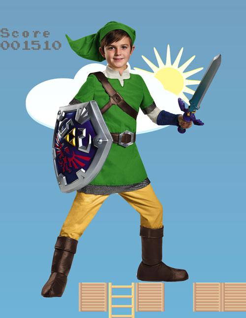 Child Link Costume