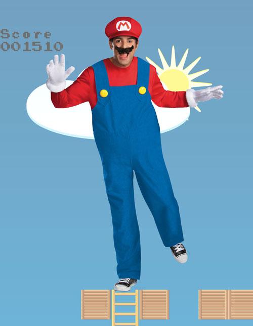 Men's Mario Costume