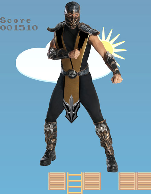 Adult Scorpion Costume