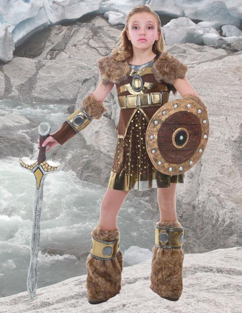 Girl Viking Warrior