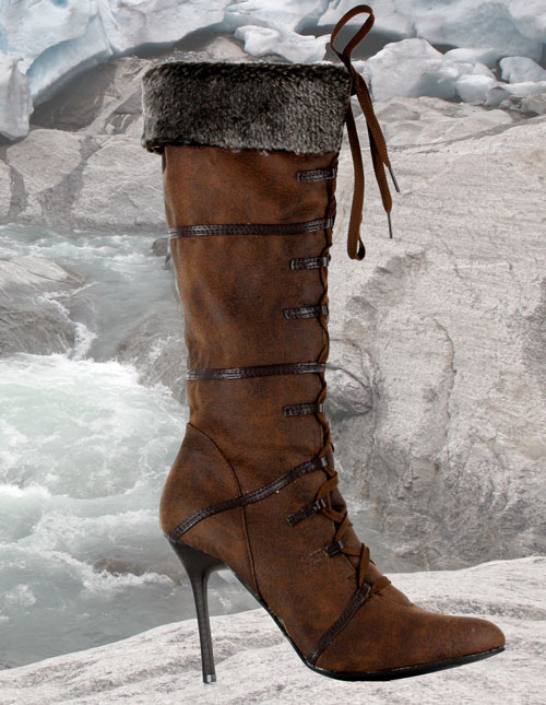 Women's Viking Costume Boots