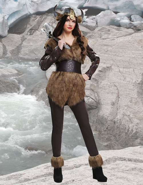 Viking Costumes & Warrior Outfits - HalloweenCostumes com