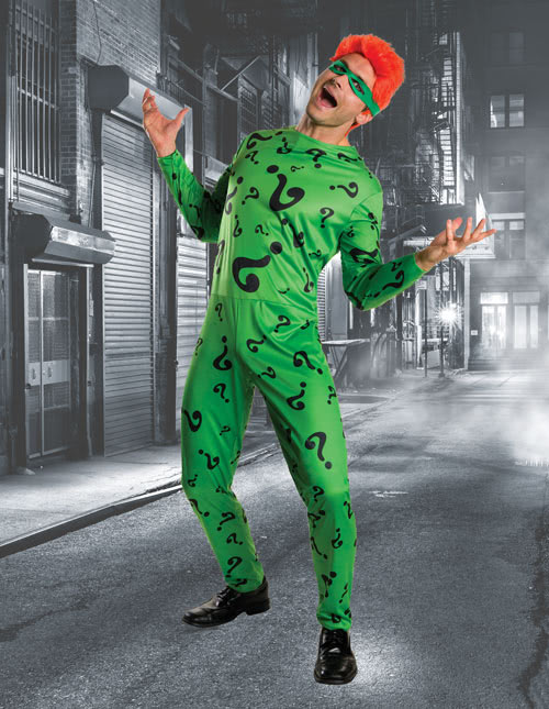 Riddler Costume  sc 1 st  Halloween Costumes : super villain costume  - Germanpascual.Com