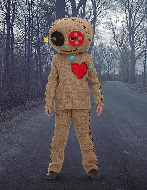 Burlap Voodoo Doll Costume