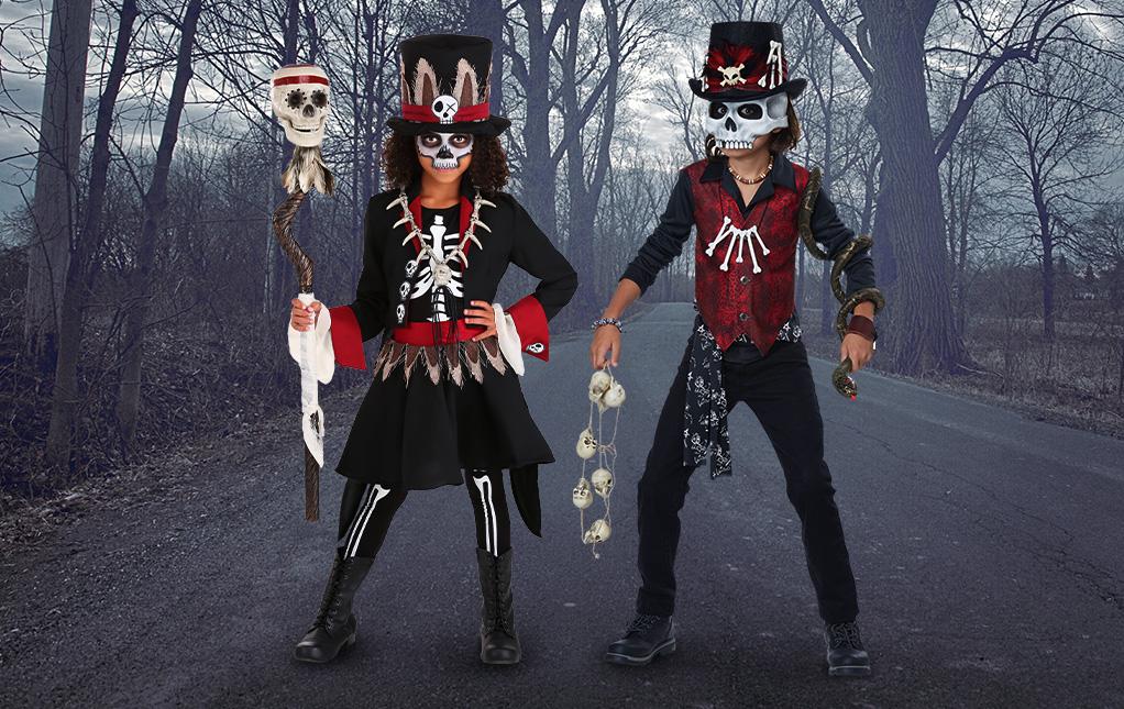 Voodoo Skeleton Costume