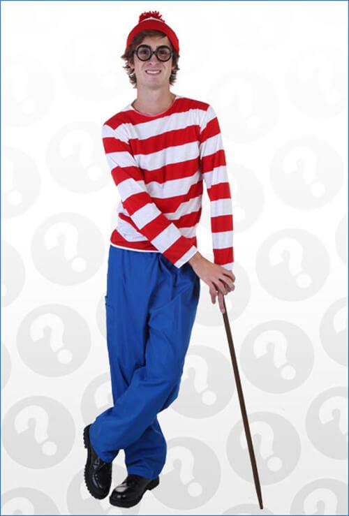 Where S Waldo Halloween Costume