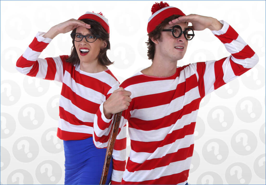 Looking for Love Waldo Costumes
