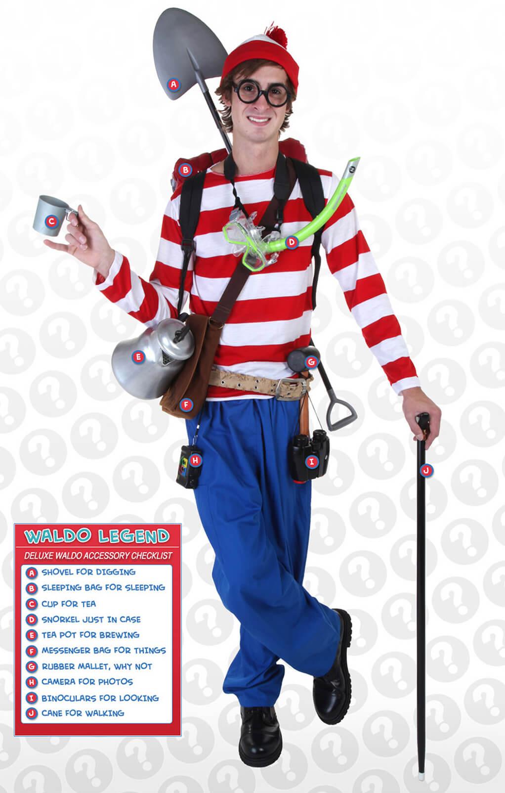 Deluxe Waldo Costume