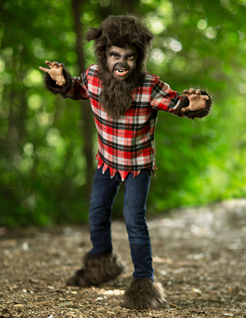 Kids' Werewolf Costume