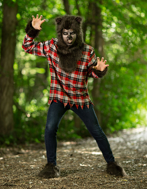 Men's Werewolf Costume
