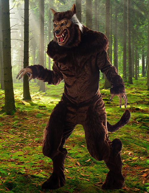 Realistic Werewolf Costume