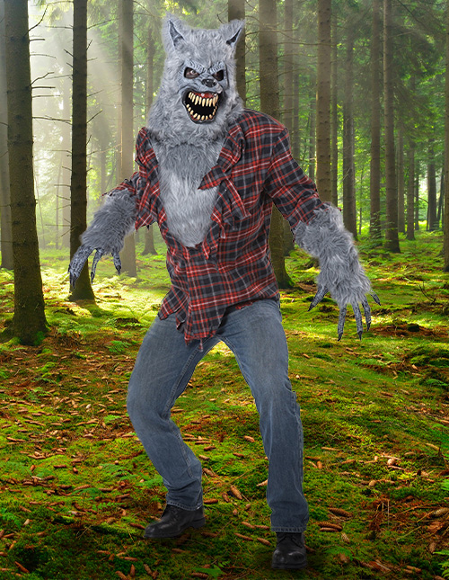 Scary Werewolf Costume