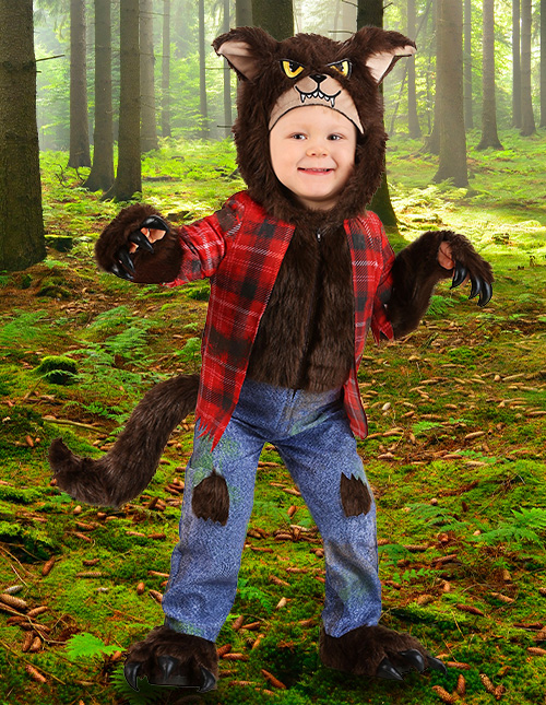 Toddler Werewolf Costume