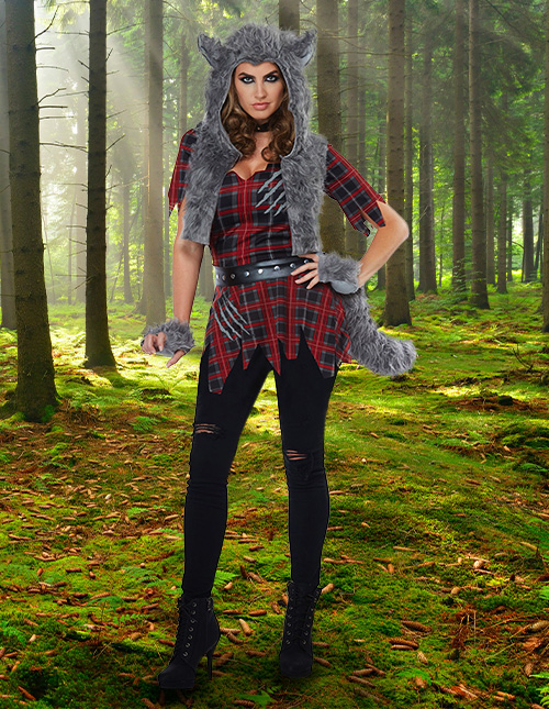Women's Werewolf Costume