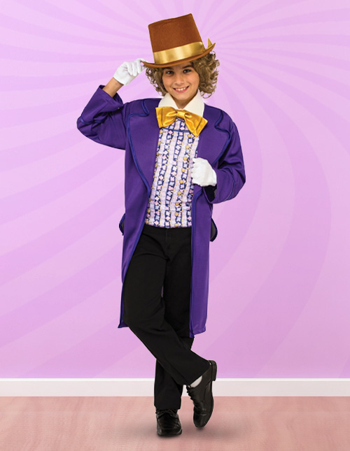 Willy Wonka Kid's Costume