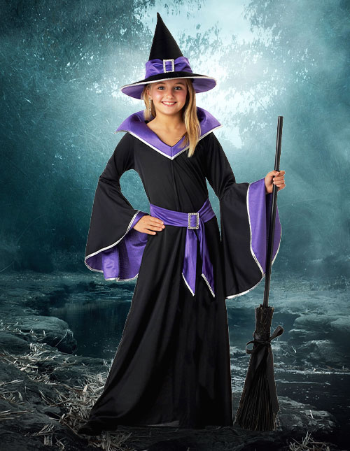 Girls' Witch Costume