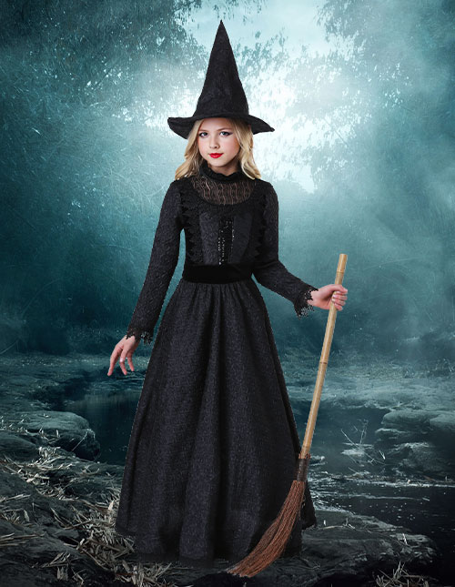 Kids' Witch Costume