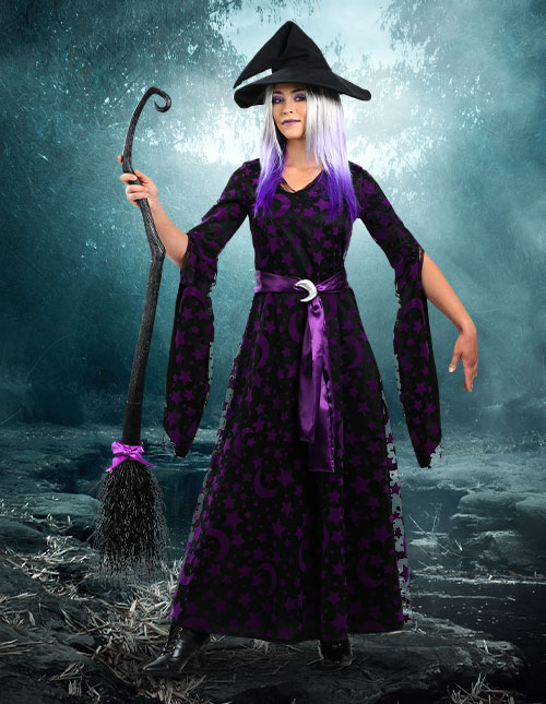 Purple Witch Costume