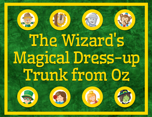 Wizard of Oz Dress-up Printable