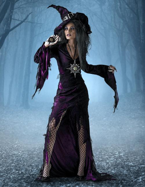 Female Wizard Costume