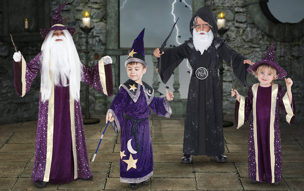 Kid's Wizard Costumes