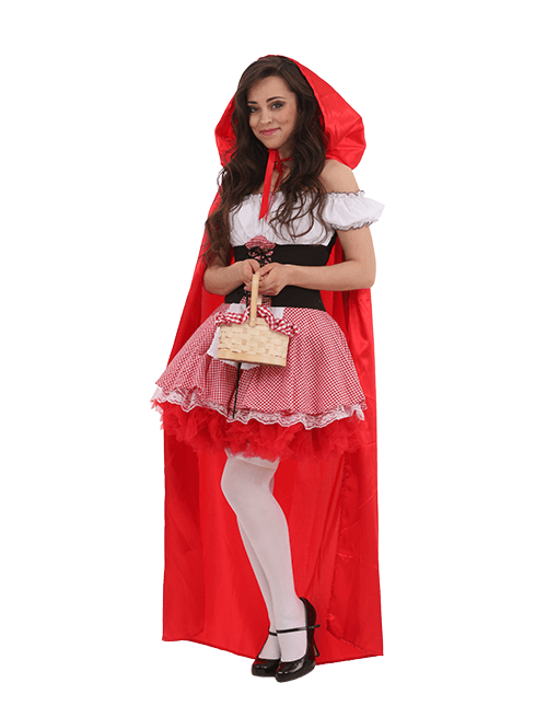 Some Coverage Red Riding Hood Costume