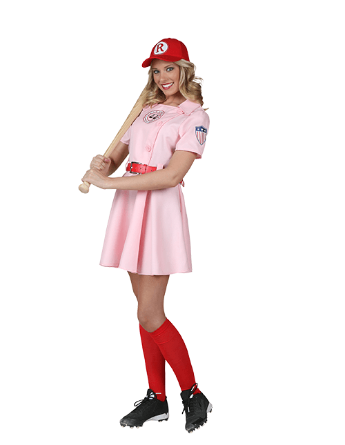 Women's A League of Their Own Costume