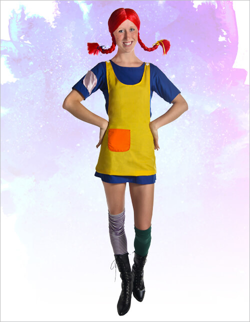 Pippi Longstocking Costumes
