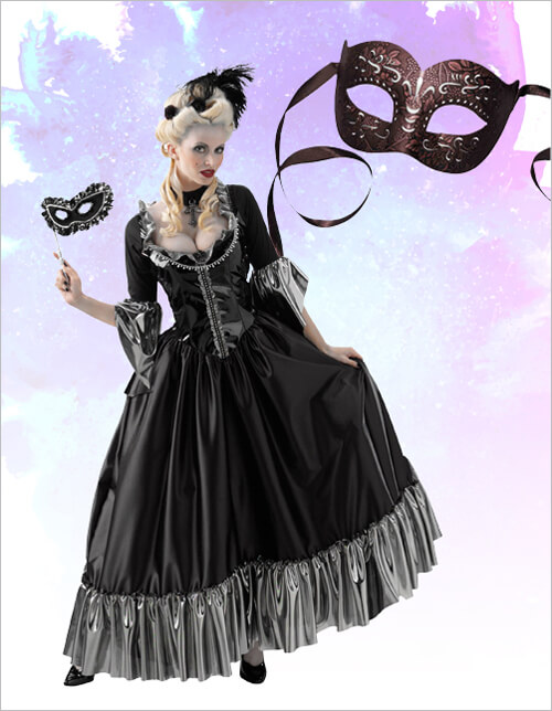 Masquerade Ball and Teresa Eye Mask
