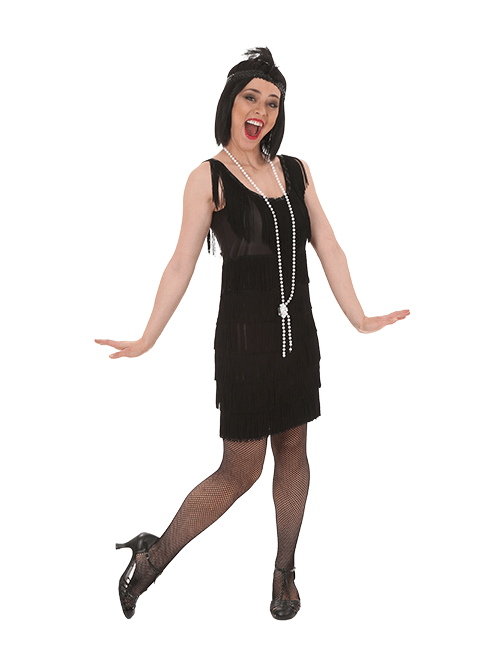 Some Coverage Flapper Costume