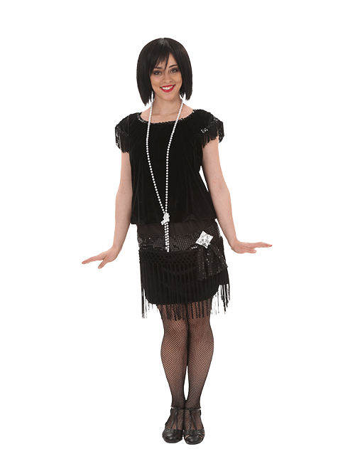 Full Coverage Flapper Costume