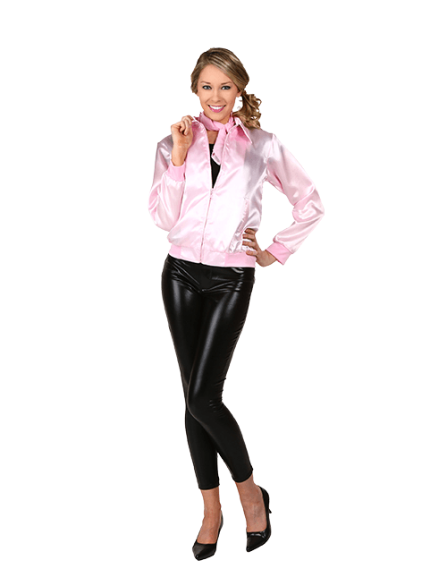 Women's Grease Pink Ladies Jacket