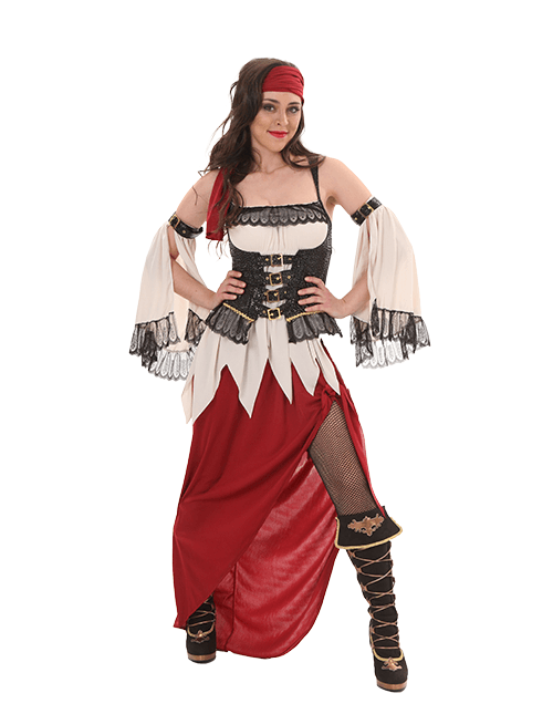 Some Coverage Pirate Costume  sc 1 st  Halloween Costumes & Halloween Costumes for Women - HalloweenCostumes.com