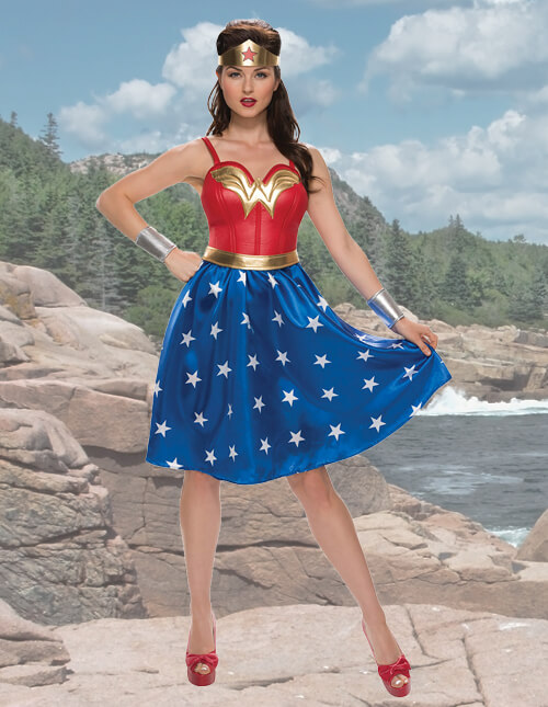 Wonder Woman Dress Costume