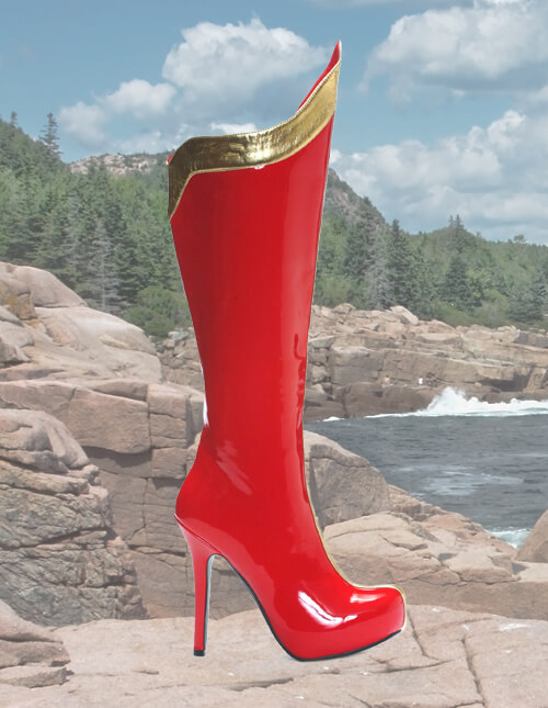 Wonder Woman Boots