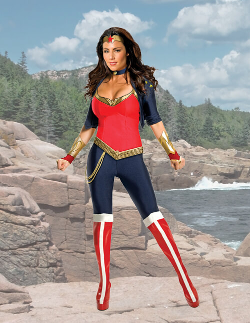 Modern Wonder Woman Costume
