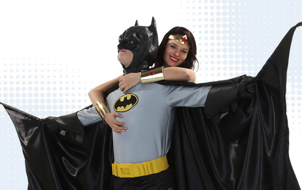 Batman and Wonder Woman Costumes