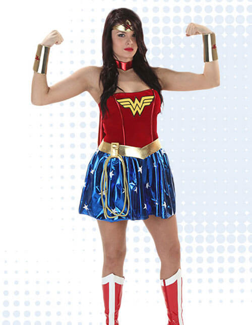 9eef005c6 Wonder Woman Costumes for Girls & Women