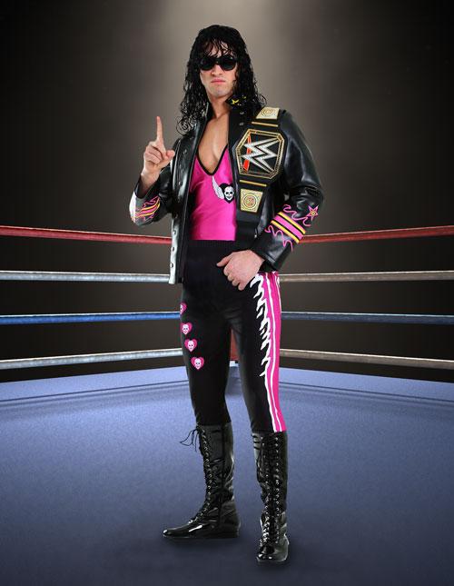 Bret Hart Wrestler Costume