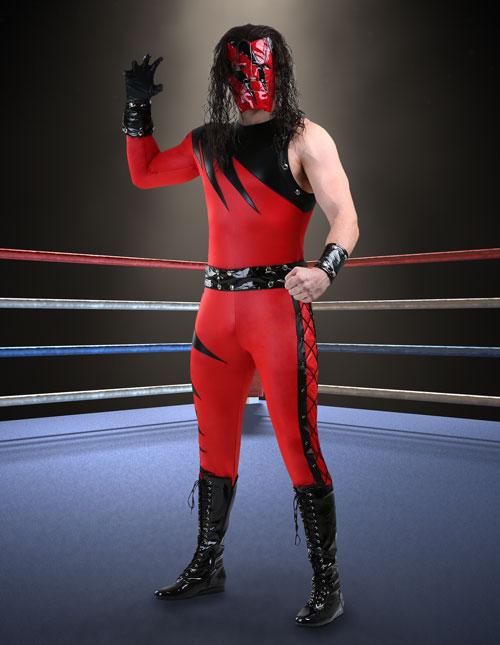Kane Costume
