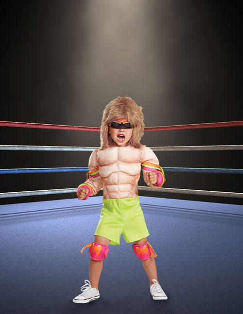 Ultimate Warrior WWE Costume for Kids