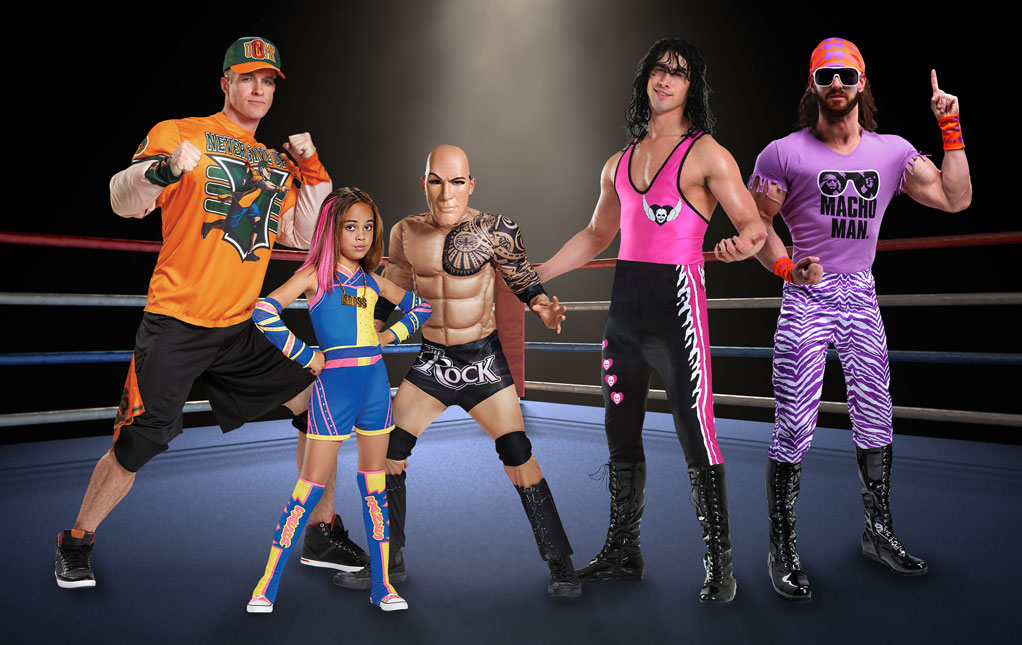 Wrestling Halloween Costumes