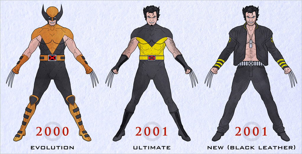 The X-Men Evolution animated series created brand new looks for the classic X-Men characters and Wolverine was no exception. An orange and black color ...  sc 1 st  Halloween Costumes & X-Men Costumes for Halloween