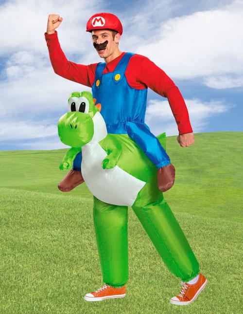 Mario and Yoshi Costume