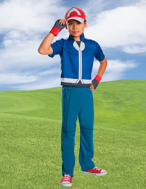Ash Ketchum Costume