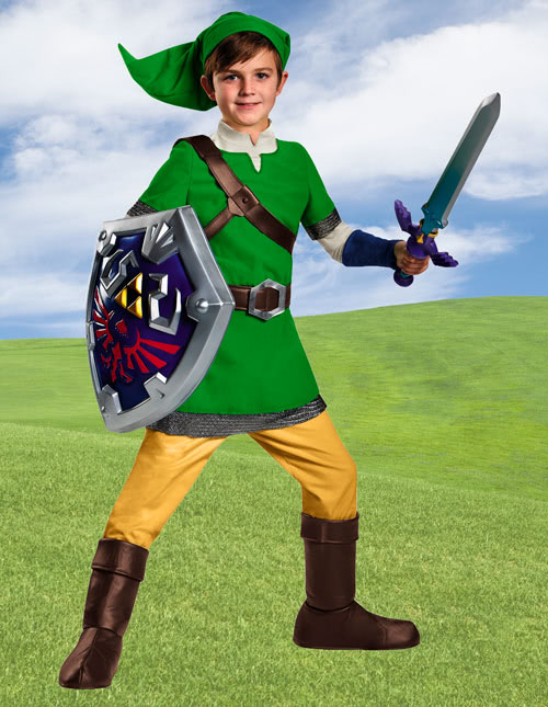 Kids Link Costume  sc 1 st  Halloween Costumes : princess zelda child costume  - Germanpascual.Com