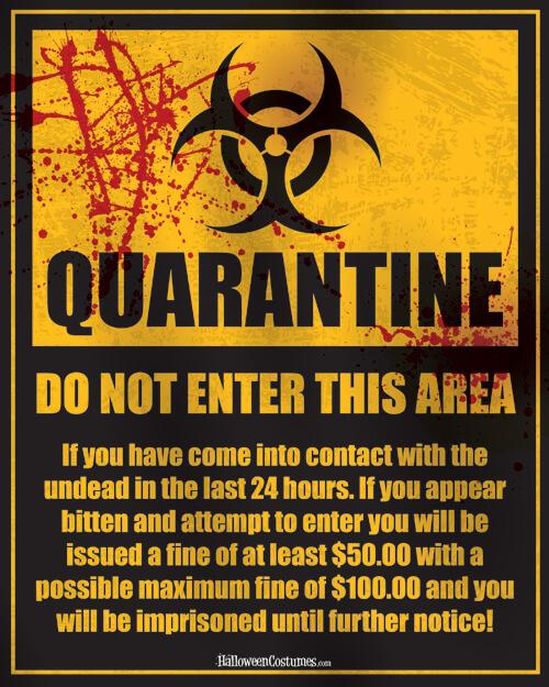 Quarantine Printable