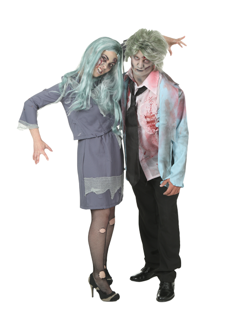Zombies Couple Costumes