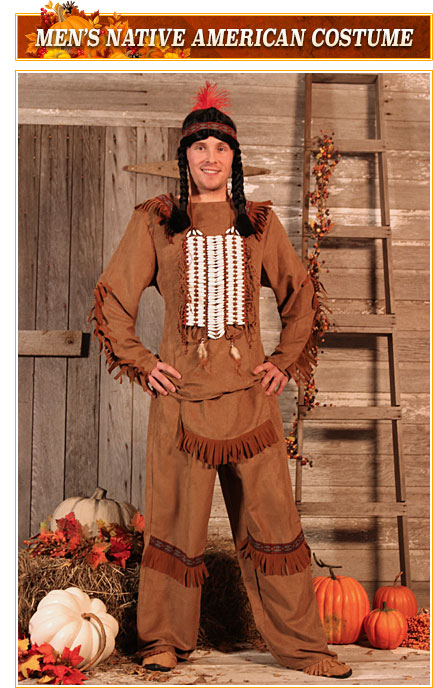 Mens Native American Costume
